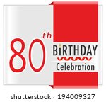 80,80th,anniversary,art,birth,birthday,cake,candle,card,celebration,date,day,decoration,family,festive
