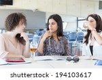 group of happy students... | Shutterstock . vector #194103617