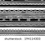 an image of ethnic pattern | Shutterstock . vector #194114303