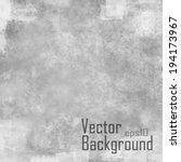 grunge vector seamless texture. ... | Shutterstock .eps vector #194173967