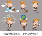 businessman series   business... | Shutterstock .eps vector #194209607