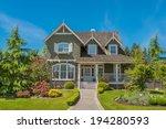luxury house in vancouver ...   Shutterstock . vector #194280593