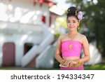 Thai Dancing Girl With Norther...