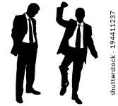 illustration of winner and...   Shutterstock .eps vector #194411237