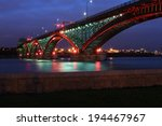 the peace bridge  which is one... | Shutterstock . vector #194467967