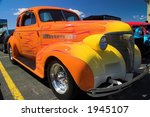 colorful flames on a hotrod | Shutterstock . vector #1945107