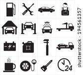 car repair or car service icon... | Shutterstock .eps vector #194561357