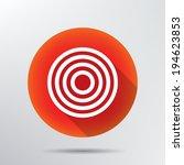 target icon.   Shutterstock .eps vector #194623853