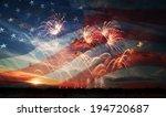 Celebratory Fireworks On The...