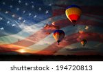 Colorful Balloons Flying At...