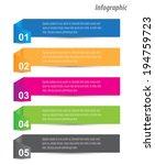 modern design template  can be... | Shutterstock .eps vector #194759723