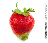 single strawberry | Shutterstock . vector #194770817