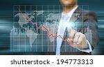 businessman using a digital... | Shutterstock . vector #194773313
