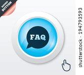 faq information sign icon. help ...