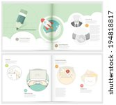 classic case study booklet ... | Shutterstock .eps vector #194818817