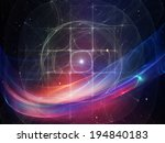geometry of space series.... | Shutterstock . vector #194840183