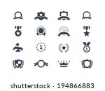 award icons | Shutterstock .eps vector #194866883