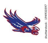 flying eagle | Shutterstock .eps vector #194933597