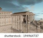 olympia   a greek fantasy... | Shutterstock . vector #194964737
