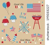 4th,america,americans,art,balloons,barbecues,bbq,bless,blue,celebration,clip,clipart,colorful,cupcakes,day