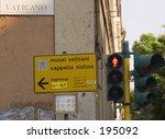 sign to the vatican | Shutterstock . vector #195092