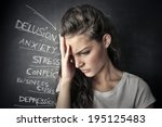 gloomy   Shutterstock . vector #195125483