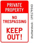 Private Property   No...