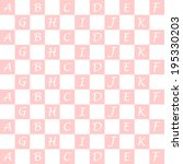 background of seamless alphabet ... | Shutterstock .eps vector #195330203