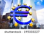 euro sign   february 12   euro... | Shutterstock . vector #195333227
