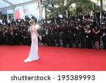 cannes  france   may 24  uma... | Shutterstock . vector #195389993
