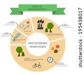 depending infographics health... | Shutterstock .eps vector #195438017
