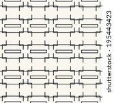 seamless pattern  stylish... | Shutterstock .eps vector #195443423
