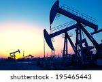 Oil Pumps. Oil Industry...