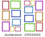 frame on the white background | Shutterstock . vector #195534353