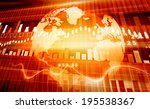 stock market chart    | Shutterstock . vector #195538367
