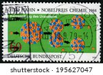 germany   circa 1979  a stamp... | Shutterstock . vector #195627047