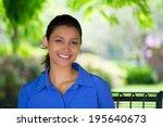 closeup headshot portrait young ...   Shutterstock . vector #195640673