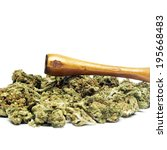 smoking weed  pot  marijuana... | Shutterstock . vector #195668483