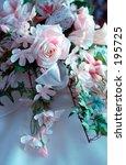 image of silk flower bridal... | Shutterstock . vector #195725