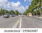 paris  france   may 14  2014 ... | Shutterstock . vector #195863087