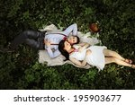 couple. | Shutterstock . vector #195903677