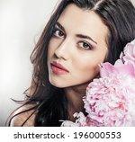 beauty studio portrait. ... | Shutterstock . vector #196000553