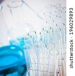 experimental equipment in the... | Shutterstock . vector #196029893