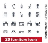 Furniture Icons  Office ...