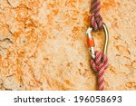 Rock Climbing Rope With Hooks...