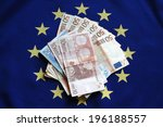 euro banknotes currency of the... | Shutterstock . vector #196188557