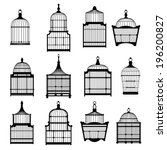 Silhouette Birdcages Collectio...