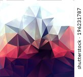 abstract modern background with ... | Shutterstock . vector #196231787