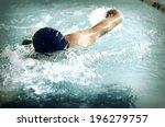 swimmer | Shutterstock . vector #196279757