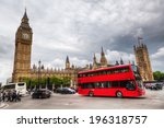 london   may 21  traffic in... | Shutterstock . vector #196318757